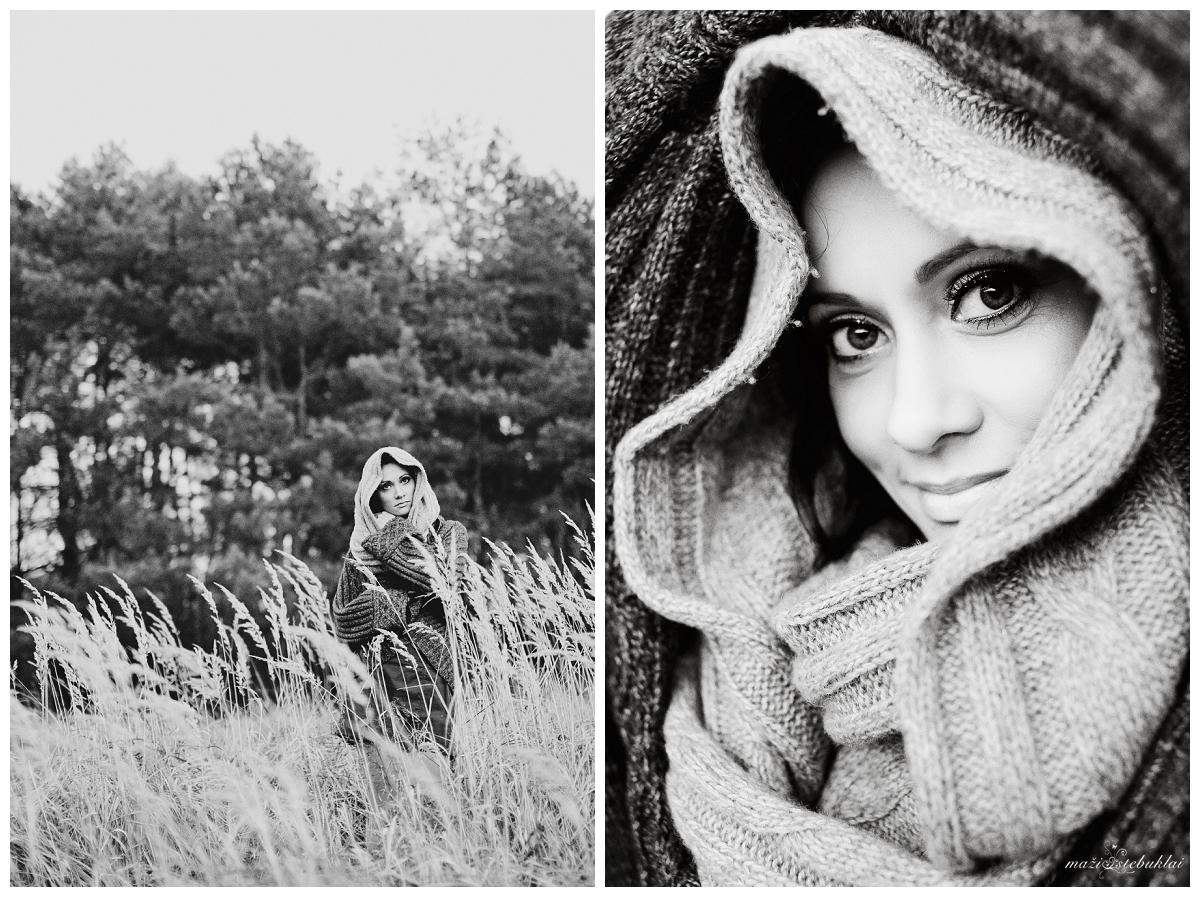 Asmeninė fotosesija rudenį