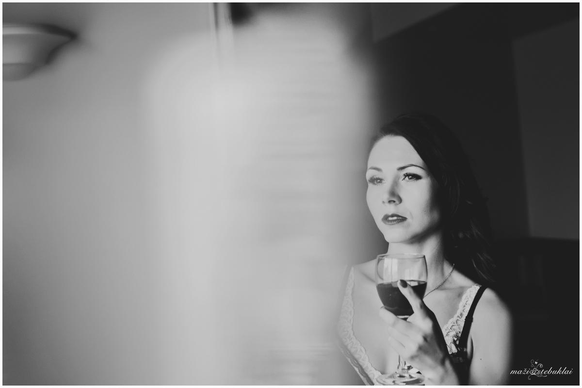 Couture Boudoir / Her Morning Elegance