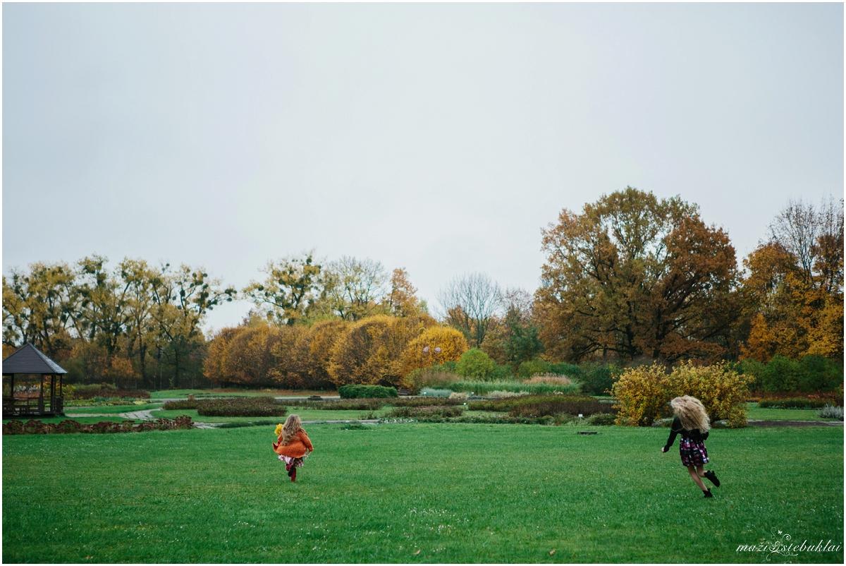 Šeimos fotosesija rudenį