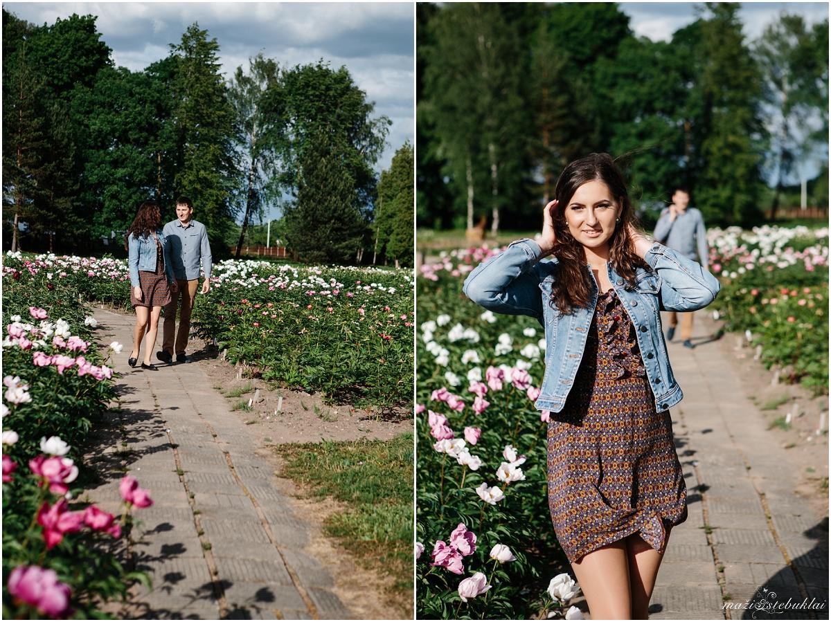 Poros fotosesija Botanikos sode/ Mūsų Meilės istorija / Giedrė ir Marius