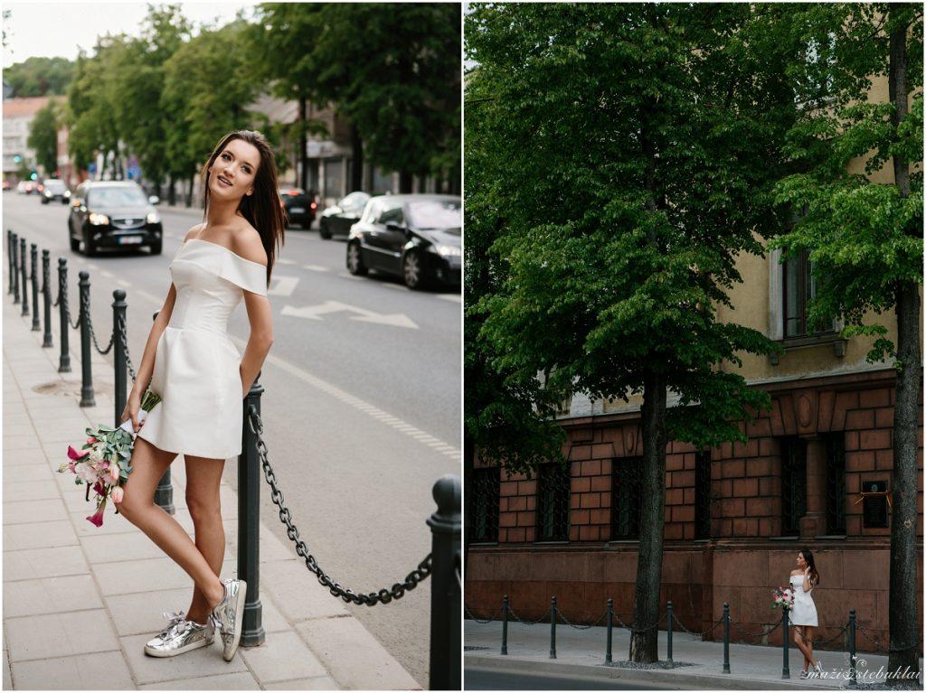 Karolina ♛ Lost in the city / Stilizuota vestuvinė fotosesija