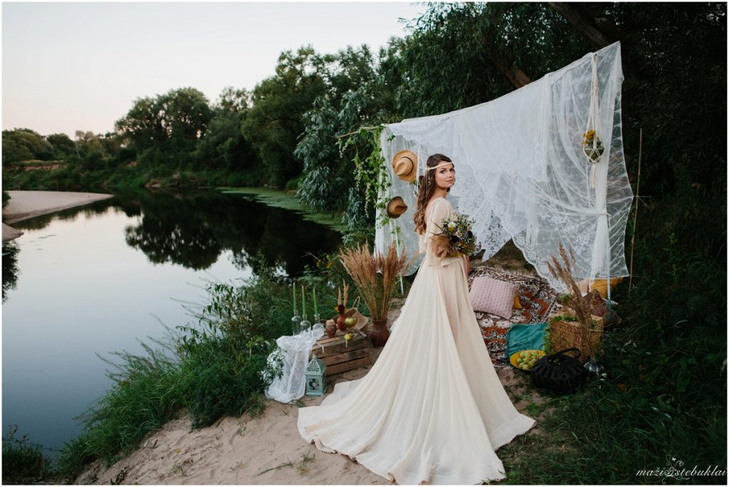 Boho vestuvinė fotosesija