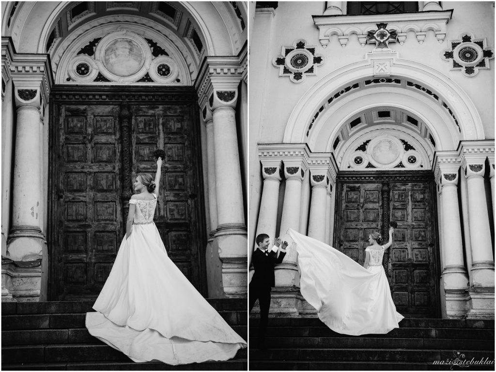 Romantiška vestuvinė fotosesija