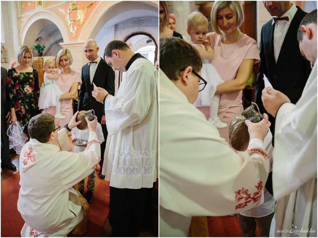 Krikštynos šv.Gertrūdos bažnyčioje