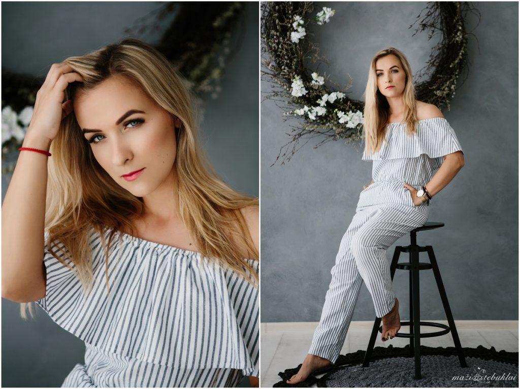 Portretai studijoje / Asmeninė fotosesija Kaune / Raminta