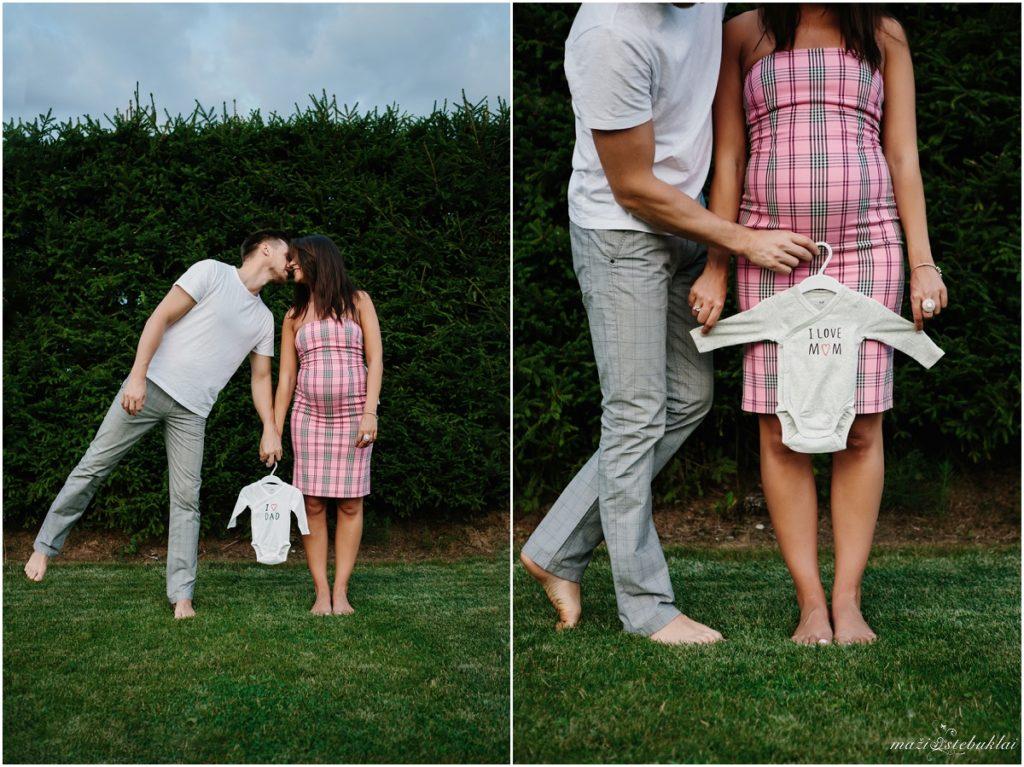 Nėščiosios laukimo fotosesija