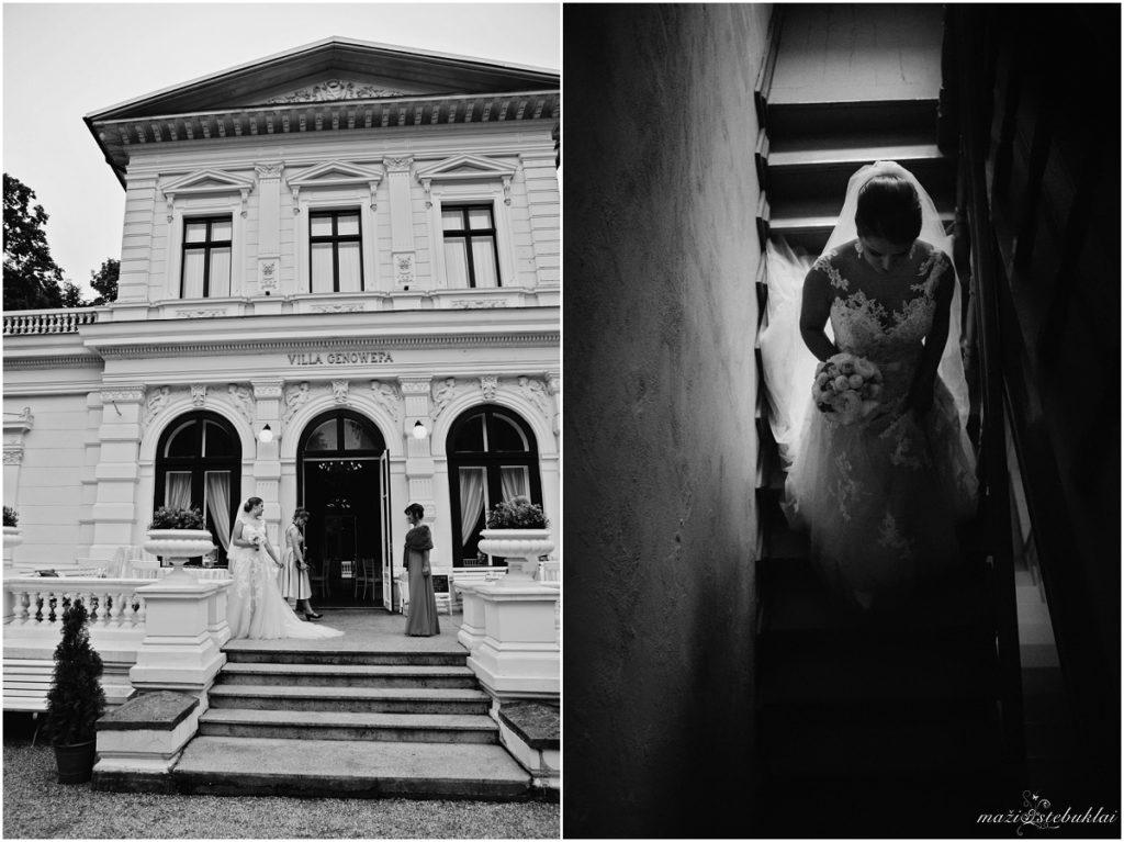 Vestuvinė fotosesija Genovefos viloje